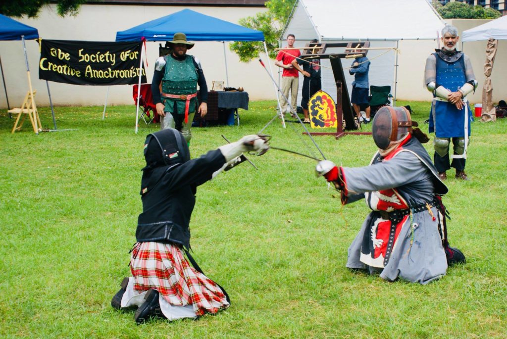 Highland Games Demo, 2018